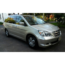 Honda Odyssey Exl, Nueva,piel, Quemacocos, 2007