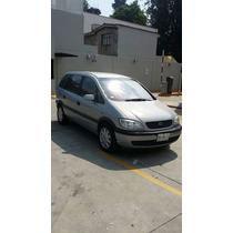 Chevrolet Zafira 2002. Para 7 Pasajeros Comodamente