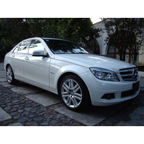 Mercedes Benz C200 Exclusive Blanco 2011