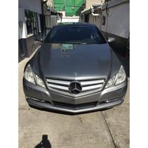 Mercedes Benz E350 Coupe 2010, Color Plata