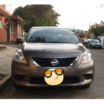 Nissan Versa 4p Sense 5vel 2014