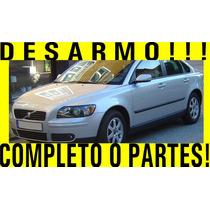 Desarmo, Completo O Partes! Volvo S40 2005 Turbo Refacciones
