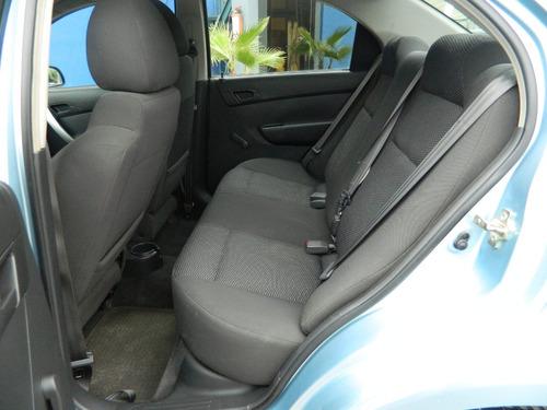 Aveo Lt Automatico C/a 2012 Azul Claro Credito Disponible