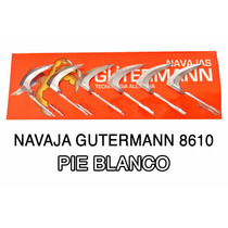 Navaja Gallo De Pelea Pie Blanco Mod. 8610 Gutermann