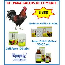 Kit Para Gallos De Pelea Y Combate