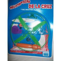 Gcg Helicoptero De La Cruz Aeronave Color Verde Blister Bbf