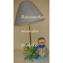 Centros De Mesa Bautizo Baby Shower Recuerdo Angelitos Pasta