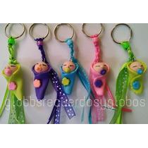 Recuerdo Llaveros Bebe Pasta Flex Baby Shower Maternidad