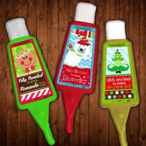 Antibacterial Con Holder Regalo Para Navidad Personalizado