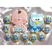Galletas Decoradas Baby Shower Recien Nacido Mamuts Bubulubu