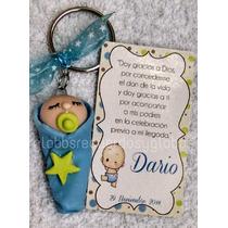 Recuerdo Llavero Bebe Pasta Flexible Baby Shower Maternidad