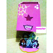 Lamparas Infantiles Monster High Centros Mesa Recuerdos