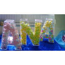 ¡¡¡¡letras Acrilico 30 Cm Decoracion, Fiestas,eventos!!!!!!