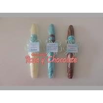 Puros De Chocolate Para El Nacimiento De Tu Bebé 10 X $60