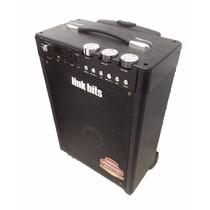 Bafle Bocina Amplificada 8 Pulgadas Bluetooth Mic Sd Usb Aux