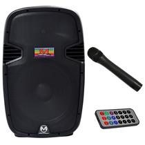 Bafle Bocina Amplificada 15 Pulgadas Bluetooth + Microfono