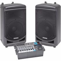 Samson Expedition Xp1000 Sistema De Audio Pa Con Mezclador