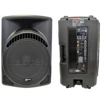 Bafle Bocina Master 15 Pulgadas Bluetooth Usb Sd Aux 3500w