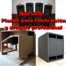 Bafles : Planos De Fabricacion Profesional