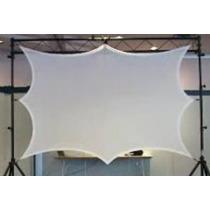 Pantalla Elastica Dj 100 Ajustable A Medidas 2x1.5m - 3x2.5m