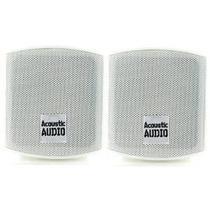 Altavoces Acústicos Audio Aa321w Surround, Blanco, Juego De