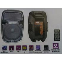 Bafle Prof Amplif 15 6000w Bluetooth Ecualizador +tripie