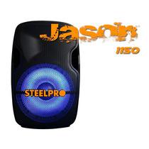 Steelpro Bafle Activo Jason 15 Luz Multicolor Super Potente