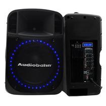 Bafle Marca Audiobah Con Leds Audioritmicos 550w Profe Xaris