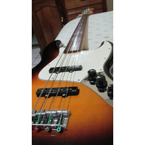 Fender Jazz Bass Mim Fretless, Pastillas Fender N3,sunburst
