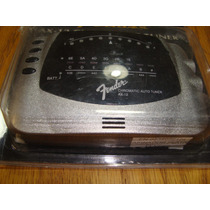 Afinador Fender Nuevo Estilo Vintage Ax-12 Plata