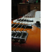 Fender Jazz Bass Mim V Cuerdas Sunburst $7400