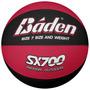 Baloncesto - Baden Sx700 Tamaño Rojo Negro 7 Recreativo Uso