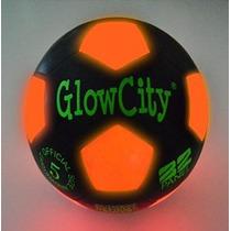 Balón De Fútbol De Light Up Led Negro Edición Limitada