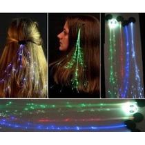 Conjunto De 4 Light-up Óptica Glowbys Led Fibra Rainbow Pasa