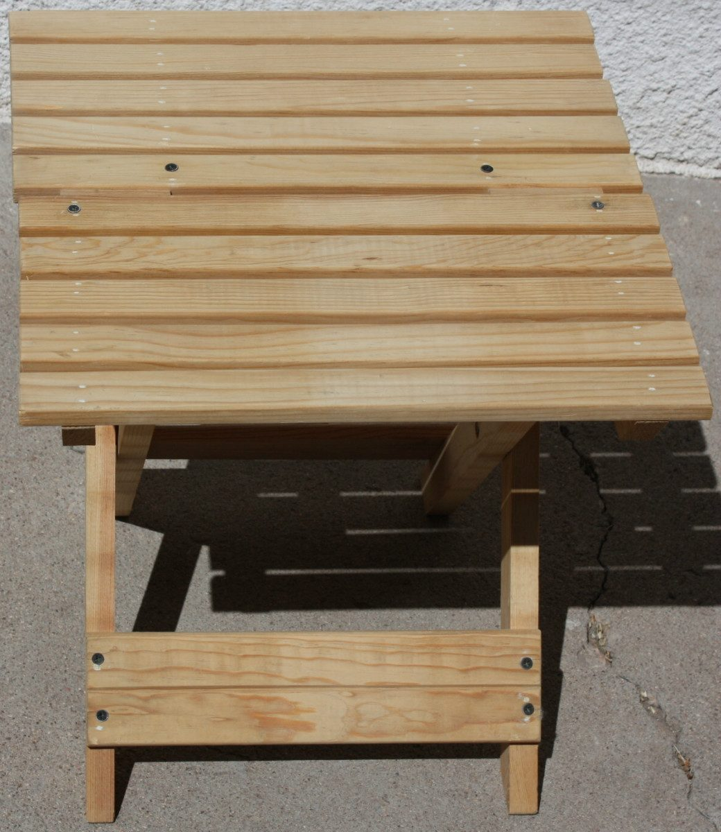 Banco de jard n mueble plegable madera jardin interiores - Banco madera jardin ...