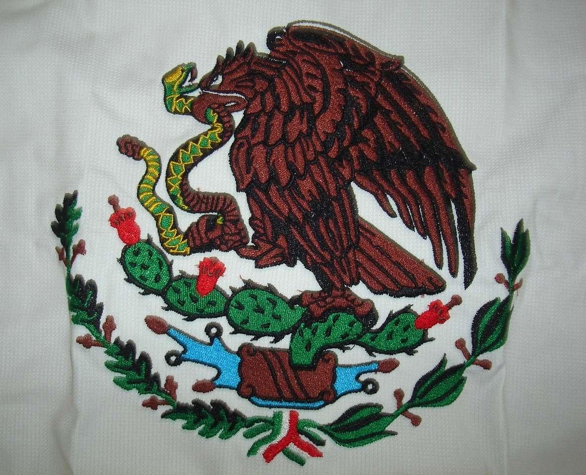 Bandera mexicana Águila