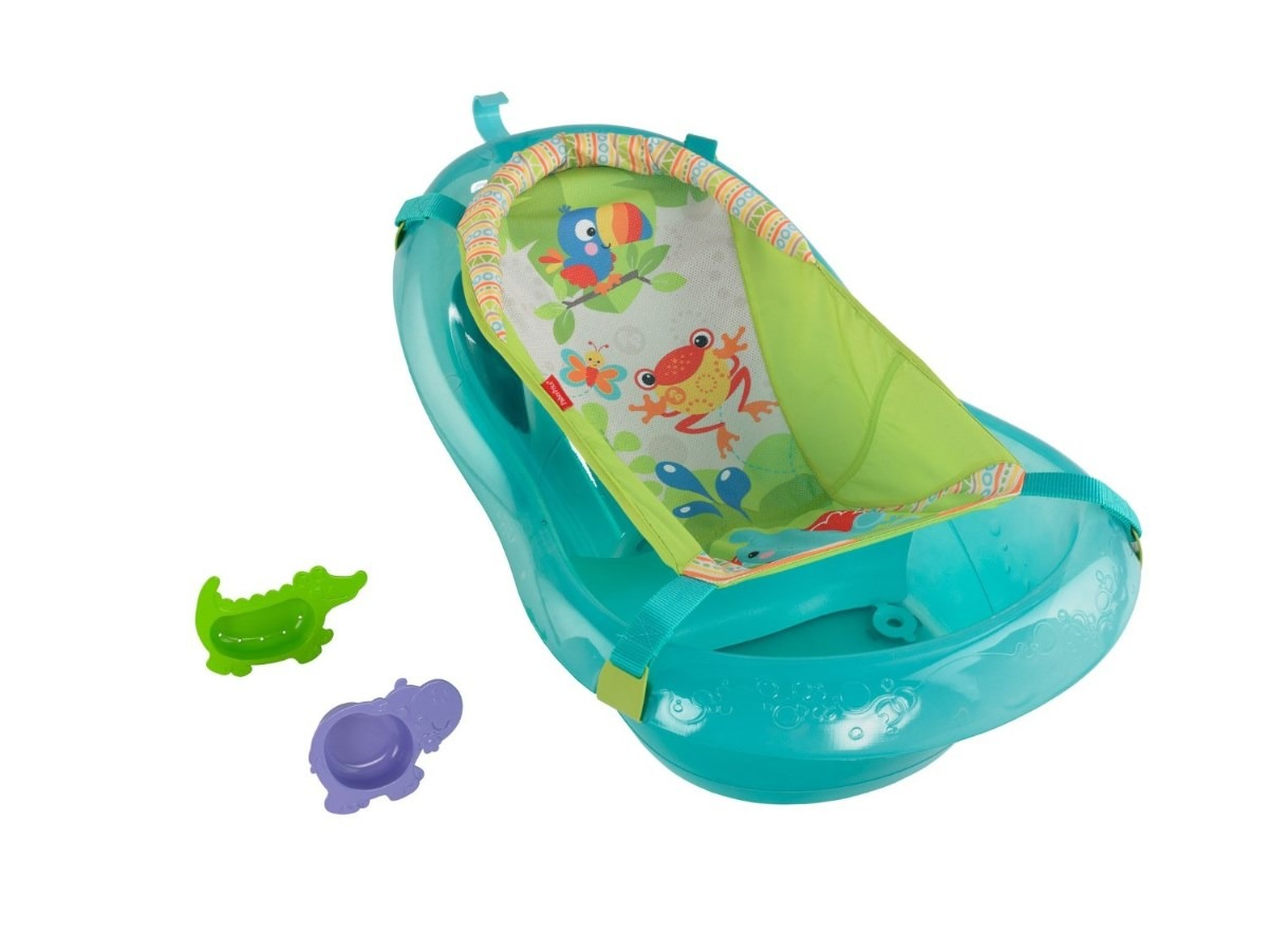 Banera Para Bebe Rainforest Friends Fisher Price Importada
