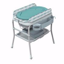 Bañera Para Bebé Plegable Con Cambiador Chicco Azul (wild)