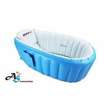 Bañera Inflable A & S Creavetion Portátil Color Azul