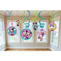 Minnie Remolino Decoraciones Del Club Mickey Mouse Piezas Ho