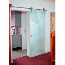 Puertas De Cristal Claro Templado, Instalación Gratis!