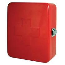 Caja De Primeros Auxilios Metalica Diseño Roja Nueva