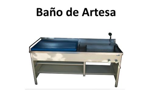 Set De Baño De Acero Inoxidable:Baño De Artesa Acero Inoxidable – $ 13,99900 en MercadoLibre