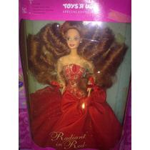 Barbie De Toysrus Radiante En Rojo Pelo Abundante