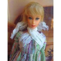 Barbie Vintage Con Pestanas Del Ano De 1966 Modelo 6