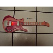 Guitarra Barbie Con Luz Y Sonido Funcionando Bien
