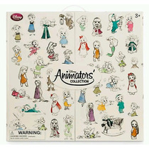 Disney Store Animators Set De 15 Mini Princesas Oferta Unica