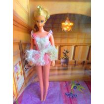 Barbie Bailarina De Los 1970s Vintage