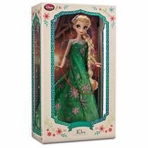 Disney Store Frozen Fever Muñeca Elsa Edicion Limitada 2015