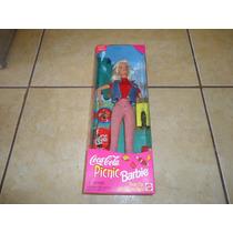 Barbie Coca Cola Picnic Edicion Especial Mattel 1997 +++